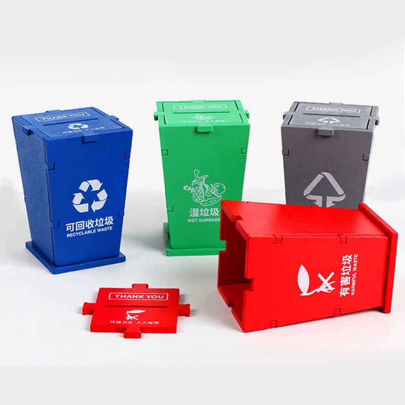 2020 bebek erken eğitim oyuncaklar çöp sınıflandırma oyunları yaratıcı çöp sınıflandırma oyuncak çocuklar için temel yaşam beceri oyuncak