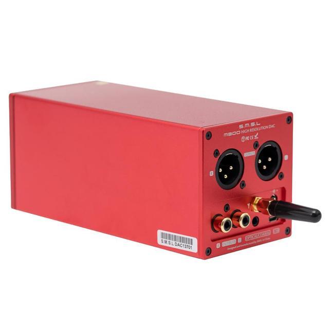 New Version SMSL M300 MKII Audio DAC AK4497 Native DSD512 PCM768kHz USB Optical Coaxial Bluetooth 5.0 Input Balanced Line Output 4