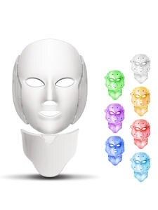 Facial-Mask Photon-Light Rejuvenation Whitening Neck-Skin Beauty-Treatment Acne Anti-Wrinkle