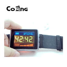 лучшая цена new products electrical red laser+Blue LED light therapy Home use medical equipment wrist watch reduce blood pressure 650nm LLLT