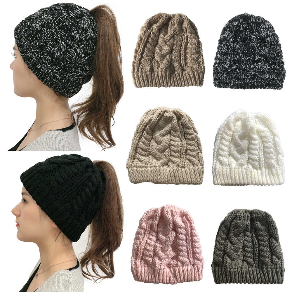 Knit Beanie Hats for Women Men Winter Warm Beanie Hats Soft Lining Thick Knit Skull Cap Acrylic Knit Cuff Beanie Cap