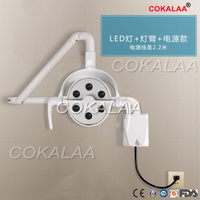 2020 good quality Medical LED Surgical operating lamp Wall Mounted Hanging dental light 180 degree rotate