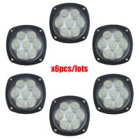 Front Tractor Cab LED Light Kit For New Holland Tractor H8000,H8040,H8060,H8080,HW305,HW305S,HW325,HW345,HW365,TLNH8000 x6pcs