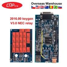 Инструмент CDP TCS pro plus,00 keygen программное обеспечение NEC 5V Реле автоматический сканер для автомобилей грузовиков OBDII диагностический инструмент