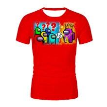 2021 3D Printed in Our Kids T-Shirt Girl Funny Clothing Boy Clothing Kids 2020 Summer Top Hot Game Men's T-Shirt XXS-6XL