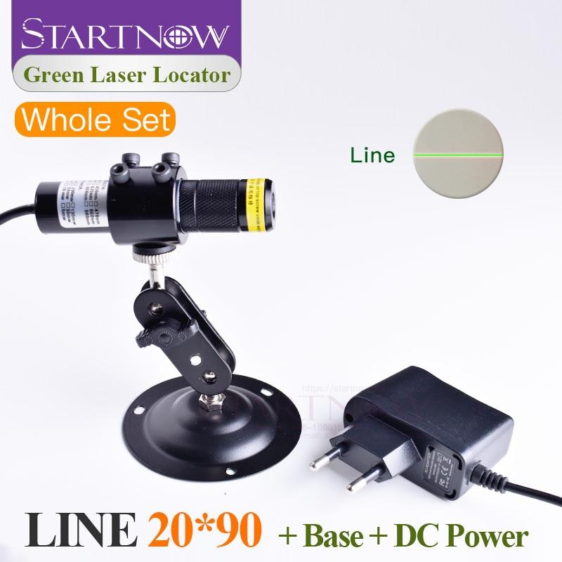 Green Laser Module Set 20*90 520nm  Alignment Green Laser Line Green Light Locator For Woodworking Machine Parts Positioner Beam