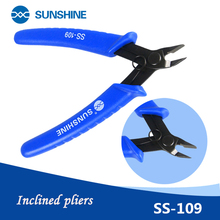 Beveled pliers, pointed shielding cover scissors SUNSHINE S-109 multifunctional pliers and line