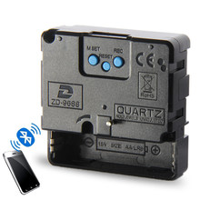 Smart Bluetooth Clock Mechanism Movement Radio Automatic timing DIY Clock Motor Parts Home Decor Clockwork Connect the Phone
