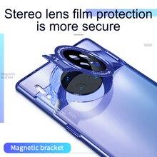 GKK Original For Huawei Mate 30 Pro 5G Case Plating Transparent Magnetic Anti-sh