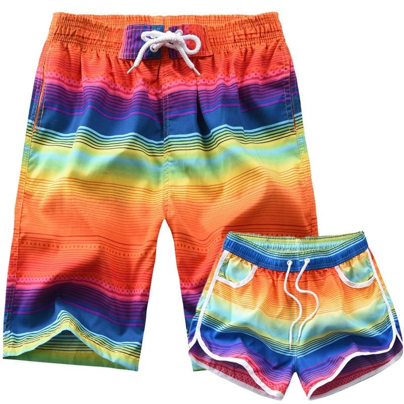 2019 Versitile Fashion Couple Clothes 2 Article Casual New Style Men'S Wear Stripes Urban Fashion MEN'S Beach Pants
