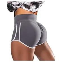 Fitness Shorts Leggings Clothing Push-Up Workout High-Waist Women Elasticity Breathable