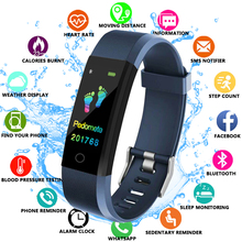FXM 2019 Smart Watch Men Health Monitor Heart rate/Blood Pressure/Pedometer Bluetooth Waterproof Sports Bracelet