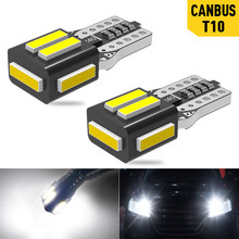 A Pack T10 W5W LED Lamp Canbus Parking Interior Lights for Audi A3 A4 A6 A5 8p B6 B8 B7 B5 C6 S3 S4 RS3 TT Quattro Q5 Q7 100 300