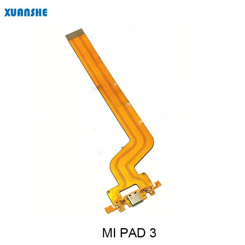 Для Xiaomi Mi Pad 3 USB док станция зарядное устройство разъем зарядный порт гибкий кабель с быстрой заменой запасные части Шлейфы для мобильных телефонов    АлиЭкспресс