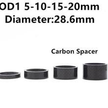 Headset-Parts Cycling-Washer Carbon-Spacer Bicycle Ultra-Light 4PCS Hollow