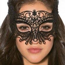 Comeondear 1 adet cadılar bayramı Cosplay ve parti dantel göz maskesi seksi bayan kesme göz maskesi Masquerade fantezi parti elbisesi kostüm