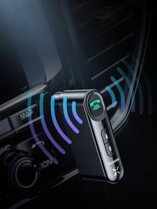 Baseus Audio-Receiver Speaker Headphone Car-Kit Aux Bluetooth Handsfree Wireless