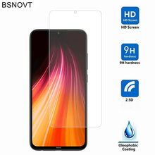2PCS Glass For Xiaomi Redmi Note 8 Phone Screen Protector Tempered BSNOVT