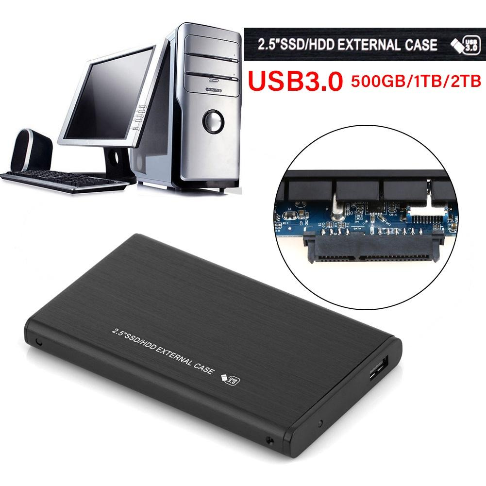 External Hard Drives 500GB/1T/2T Portable USB 3.0 SATA External High Speed HDD Mobile Hard Disk Drive
