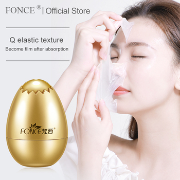 Fonce Yeast Rejuvenating Veil Face Cream 30g Eggshell Night Sleeping Egg Mask Facial Moisturizing Brightening Firming Skin 1
