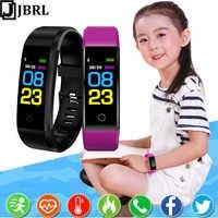 Pulsera inteligente para niñas, pulsera de seguimiento de Fitness para niños, banda inteligente con regalos para niños, banda inteligente para Android IOS