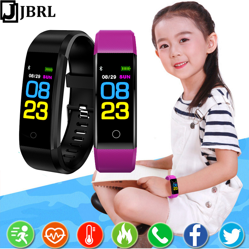 Smart Bracelet girls watches Fitness Tracker Wristband for kids children Smartband With Gifts child smart band for Android IOS image