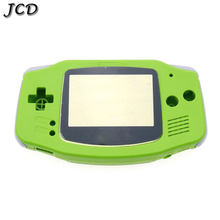 JCD DIY Full Set Plastic Housing Shell Cover Case w/ Screen Lens,Button set for GameBoy Advance For GBA console