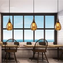 Vintage Home Decor Kitchen Pendant Lights Nordic Glass Loft Pendant Light Kitchen Hanging Lamps Home Decor Hanglamp Luminarias