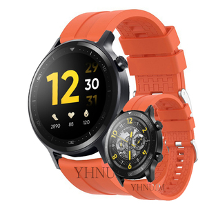 Image 2 - Realme Watch S Strap Silicone Wristband realme s pro band Sports Band Bracelet Replacement Band