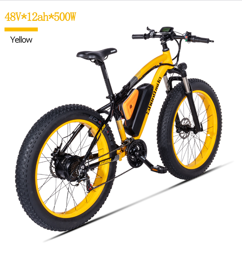 Electric mountain Bicycle Bafang Motor 500W Beach Rover Electric bike 48V17A Lithium Ele t ebike Electric Beach Car 26 Inch Elec