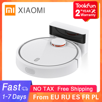 2020 XIAOMI MIJIA MI Robot Vacuum Cleaner for Home Filter Dust Sterilize 1800PA Automatic Sweeping Smart Planned WIFI APP Remote - discount item  19% OFF Household Appliances