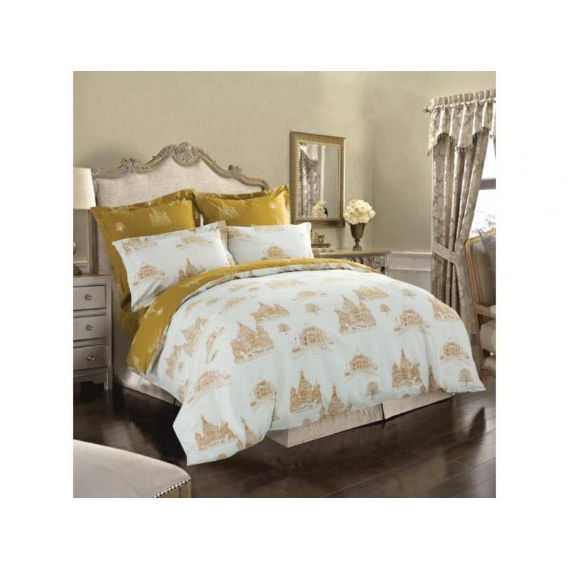 цена на Bedding Set полутораспальный СайлиД, B, pattern, White