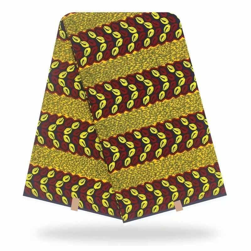 2020 새로운 Arriva 100% 코 튼 아프리카 왁 스가 나 왁 스 패브릭 고품질 앙골라 왁 스 인쇄 6 야드/옷에 대 한 조각