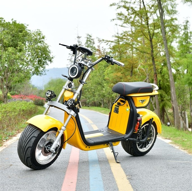 2000W 20AH Two Wheels Cost-Effective Unique Design Best Quality Popular Citycoco Electric Scooter  Electric Motorcycle 6