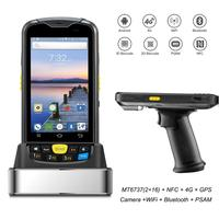 Android Data Collector Terminal Rugged PDA 1D 2D Barcode Wireless Scanner 4G WiFi Bluetooth GPS NFC Warehouse Data Collection