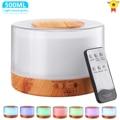 500ML Aromatherapie Diffusor Xiomi Luftbefeuchter mit LED Licht Hause Zimmer Ultraschall Kühlen Nebel Aroma Ätherisches Öl Diffusor
