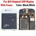 Оригинальный полноразмерный ЖК-дисплей hkfastel для мобильного телефона BlackBerry Q10 + дигитайзер сенсорного экрана + рамка в сборе