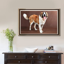 5D Full King Kong DIY Diamond Painting Oil Painting Saint Bernard Dog Living Room Bedroom Dining Room Decoration Painting
