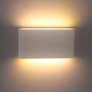 Image 3 - 북유럽 LED 벽 Sconce 옥외 점화 Decotration 계단 정원 포치 빛을위한 방수 IP65 알루미늄 AC85 265V