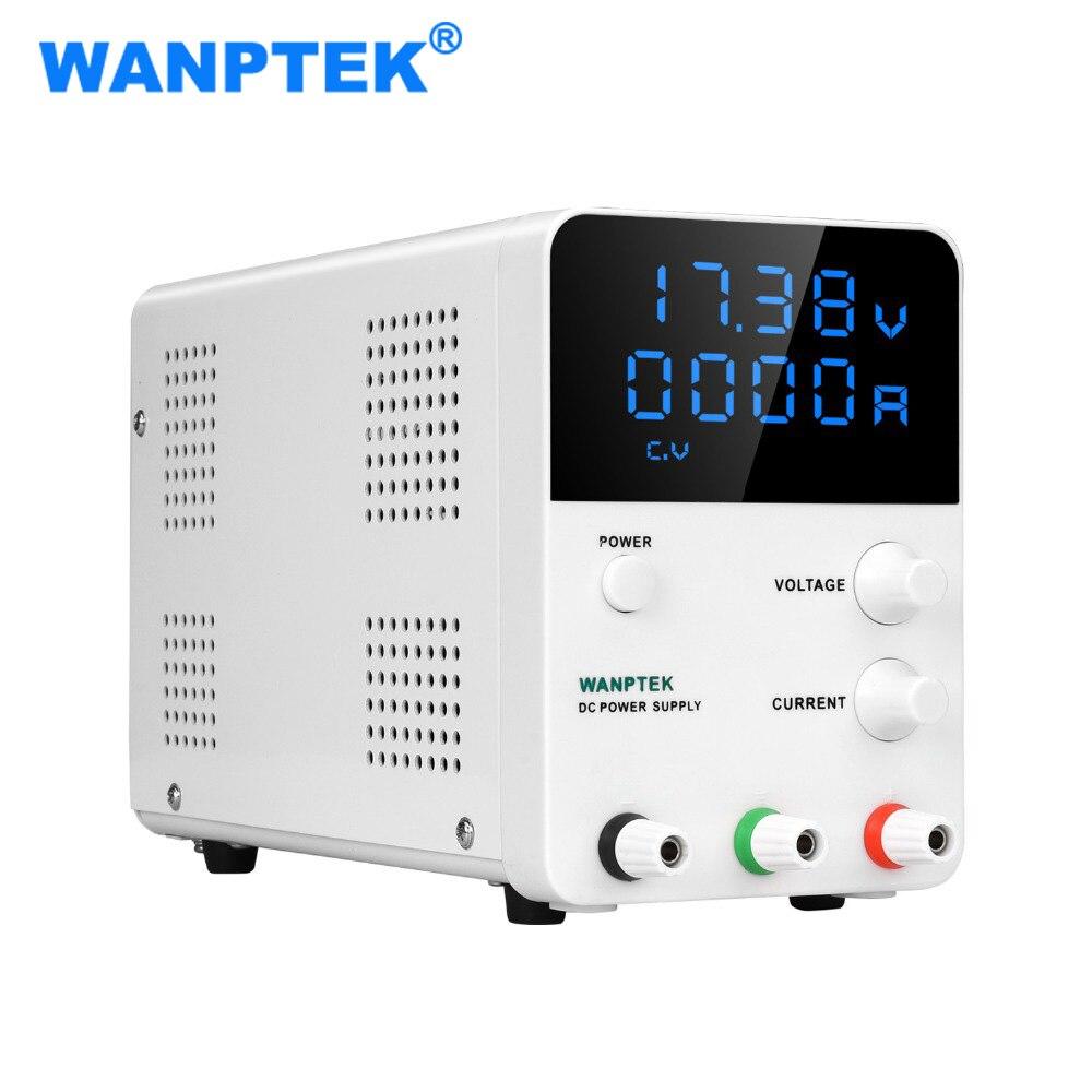 Wanptek GPS605D Interruptor de Alimentação DC Fonte De Alimentação De Laboratório Display Digital Ajustável 60V 5A 30V 10A Mini