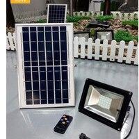 5 ADET 10W 20W 30W 50W 100W Şarj Edilebilir Güneş Projektör Güneş Bahçe Koridor Sokak projektör duvar Lambası Uzaktan Kumanda