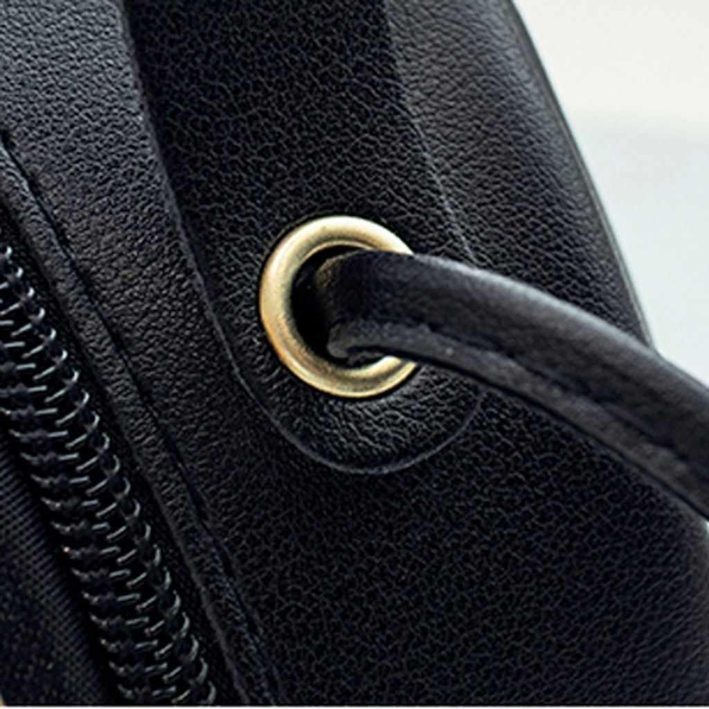 Fashion Wanita Mini Tas Selempang Outdoor Solid Warna Kulit Payet Tas Bahu Tas Messenger Wanita Tas dan tas Tangan