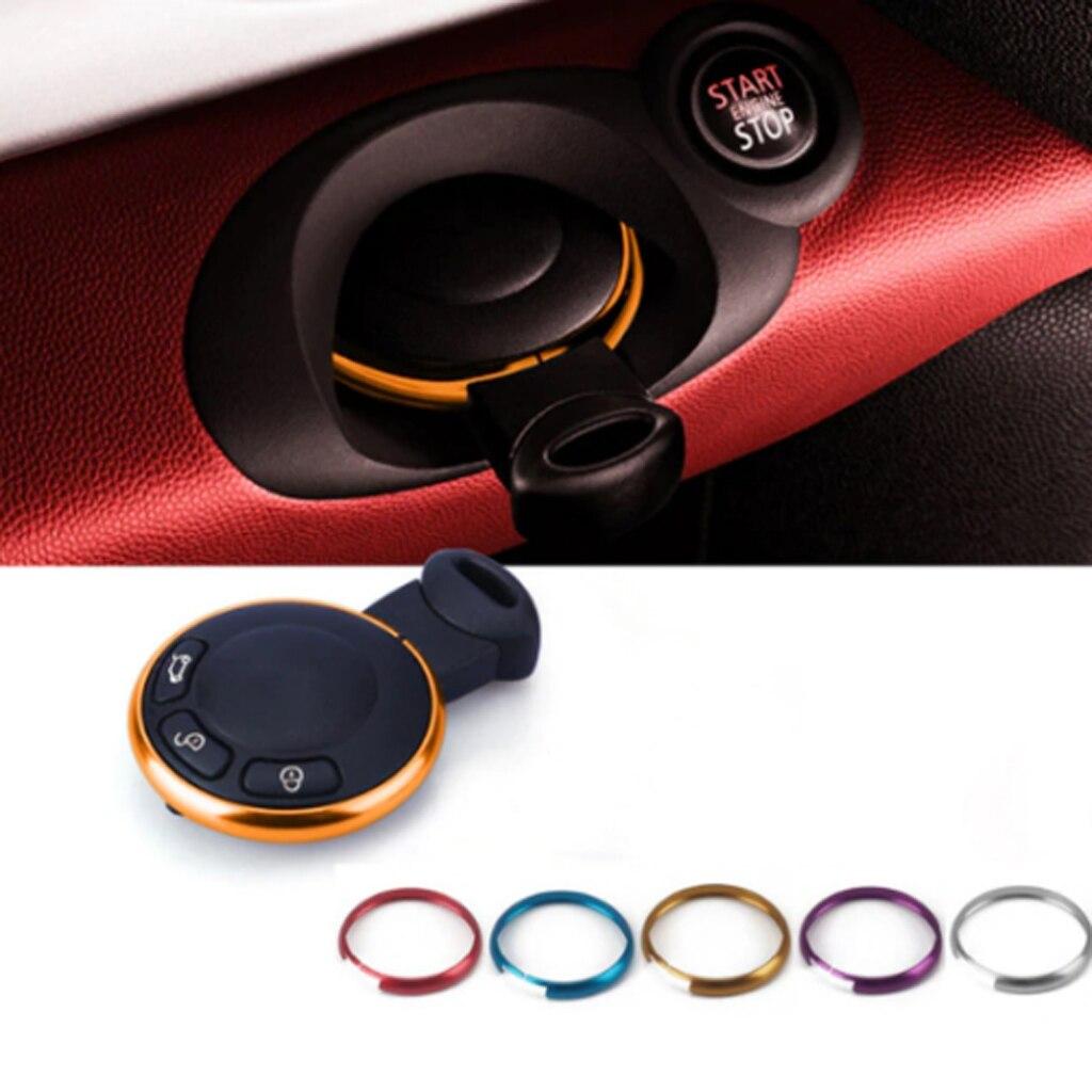 Decor Trim Ring Rim For Bmw Mini Roadster Cooper Clubman Smart Key R59 R60 R55