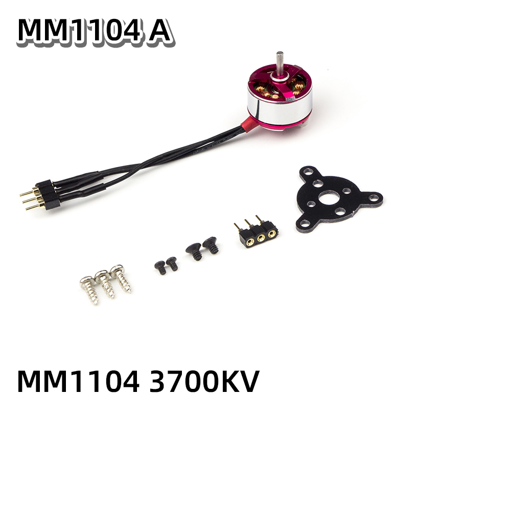 AEORC Brushless Motor C05M 1104 3700KV 1.5mm Shaft Brushless Outrunner Motor for RC Aircraft Plane Airplane Multi-copter