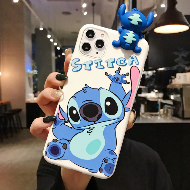 Cute Cartoon 3D Stitch soft silicone phone case for OPPO A3 A3S A5 A39 A57 A59 A79 A83 A7 A7X A9 F9 F11 A9 2020 back cover