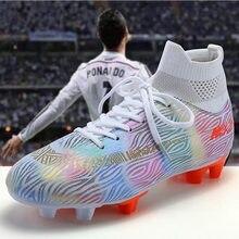 Męskie buty piłkarskie do użytku w pomieszczeniach oryginalne Superfly Futsal trampki dla dzieci buty piłkarskie treningowe TF AG kolce buty do piłki nożnej