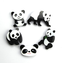 Magnetic Buttons Refrigerator Lovely Chinese Panda Animal Bonded Magnetic Particles White Board Colorful Particle 10pcs bcd 215 ae00n144 refrigerator board