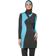 Swimwear Hijab Turkey Long-Sleeved Islamic Full-Cover Muslim Plus-Size The Tights Baggy
