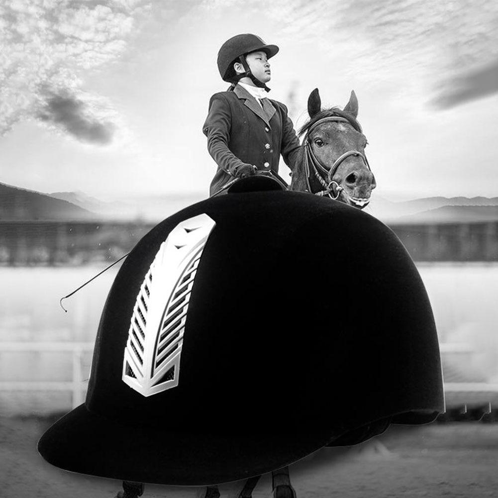 Women Men Half Cover Cap Horse Riding Safety Guard Protective Adult Equipment Equestrian Helmet Anti Impact Sports Professional