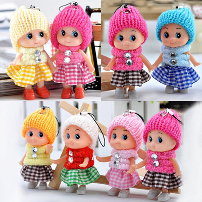 5pcs Kids Toys Interactive Baby Dolls Toy Mini Doll For Girls And Boys Reborn Doll Toy